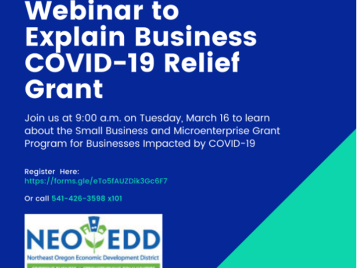 Covid Relief Grants Still Available from NEOEDD