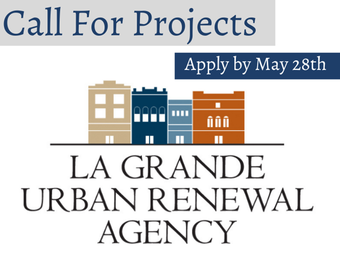 PRESS RELEASE Urban Renewal Agency Call for Projects Grant